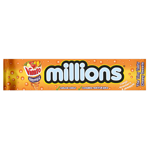 Millions Vimto Remix  35g packet